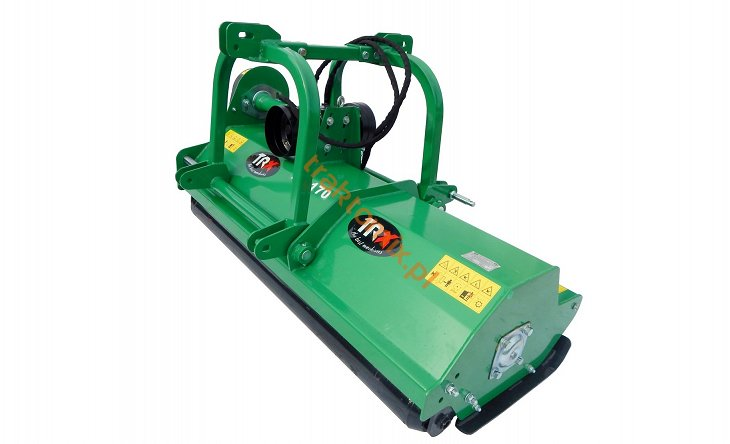 flail mower with sidewise shifting AG-170